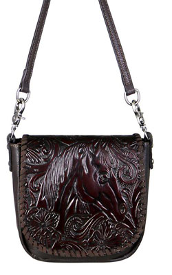Horsehead Cross Body Bag Coffee