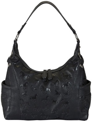 Lila Hobo Bag Black