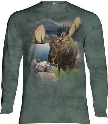 Monarch of the Forest Long Sleeve T- Shirt