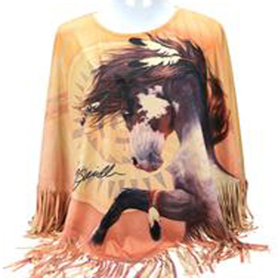 Native Horse Poncho