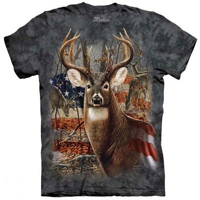 Patriotic Buck T-shirt