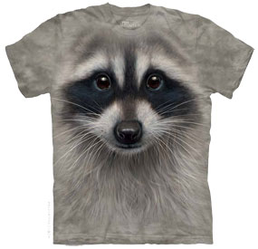 Raccoon Face T- Shirt