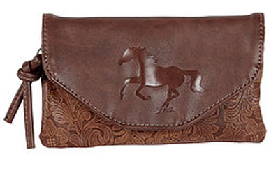 Running Horse Crossover Purse