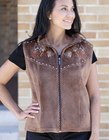 Sienna Fleece Vest