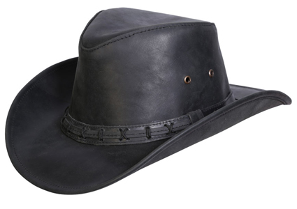 High Sierra Leather Hat
