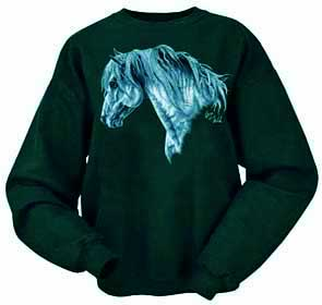 Stallion Head Sweat Shirt