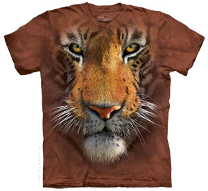 Tiger Face T- Shirt
