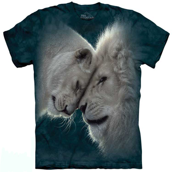 White Lion Love T- Shirt