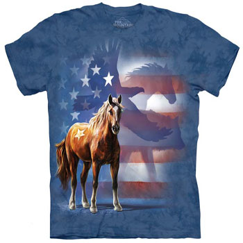 wild Star flag T- Shirt