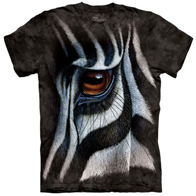 Zebra Eye T- Shirt