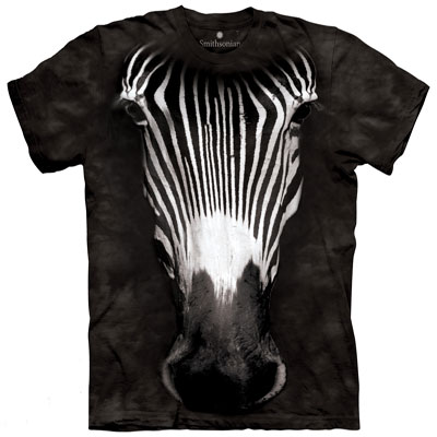 Zebra Face T- Shirt
